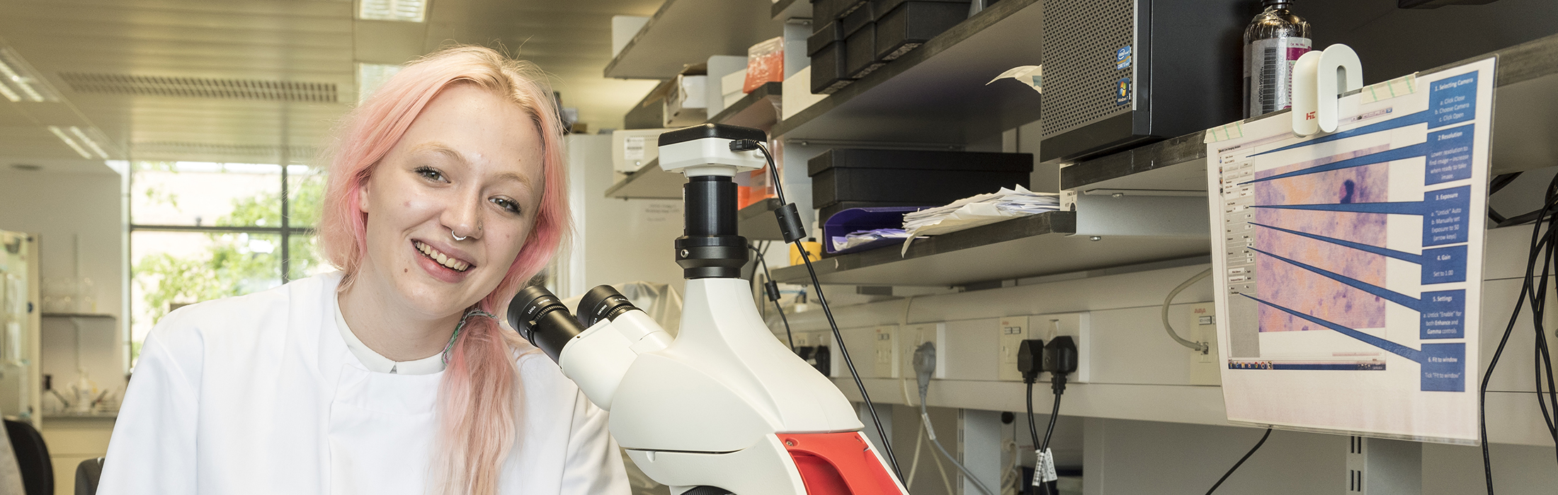 Sophie Jamieson - Lab Technician Apprentice at the Jenner Institute