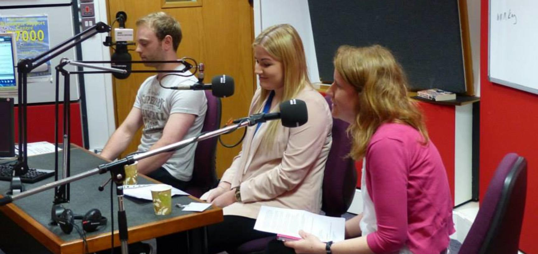 University of Oxford apprentices at Radio Oxford talking about Apprenticeships