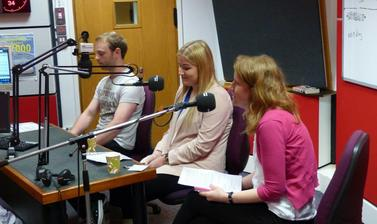 Oxford Apprentices at Radio Oxford
