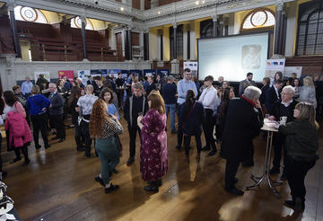 Apprenticeship Expo & Awards 2020 crowds talking to training providers