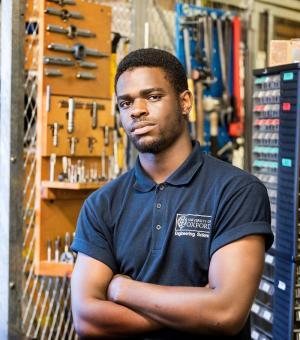 Harry Kachika - Apprentice Mechanical Technician, Engineering Science