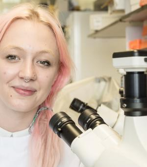 Sophie Jamieson - Lab Technician Apprentice,  Jenner Institute